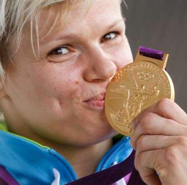 Poletne olimpijske igre 2012. Svetovna prvakinja v judu Urska Zolnir.