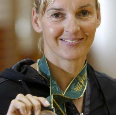Nekdanja atletnija in dobitnica srebrne olimpijske medalje na olimpijskih igrah v Atlanti leta 1996 Brigita Bukovec.