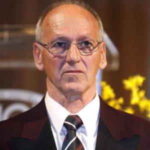 Slavnostna 43. podelitev Bloudkovih priznanj in nagrad za leto 2007. Predsednik odbora za podeljevanje Bloudkovih priznanj Miro Cerar.