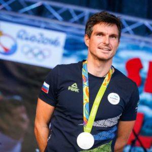 Sprejem kajakasa Petra Kauzerja, ki je na olimpijskih igrah v Riu osvojil srebrno medaljo. Kajakas Peter Kauzer.