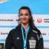 Finale svetovnega pokala v sportnem plezanju. Slovenska sportna plezalka Lucka Rakovec.