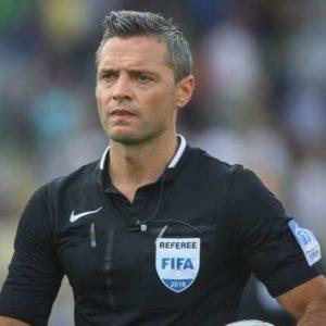 NK Olimpija je z remijem 1:1 proti Domzalam v zadnjem krogu 1. slovenske nogometne lige osvojila naslov drzavnih prvakov. Slovenski nogometni sodnik Damir Skomina.