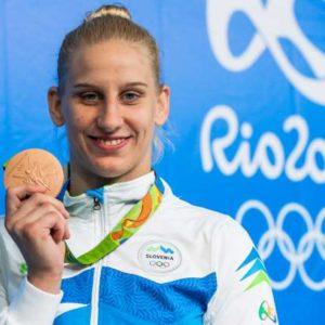 Poletne olimpijske igre 2016. Slovenska judoistka Anamari Velensek je osvojila bronasto olimpijsko kolajno.